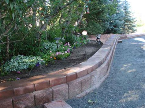 garden bed retaining wall retaining walls and raised garden bed edging four seasons landscaping