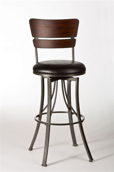 pewter bar stools hillsdale santa monica swivel counter stool pewter
