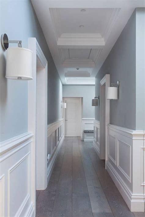 wall paneling ideas    images narrow hallway