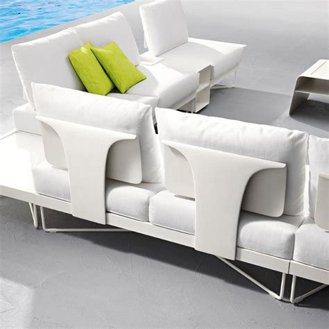 outdoor metal sofa coral reef sectional garden sofa by roberti rattan