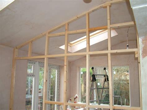 amenagement salle de bain petit espace 608 construire une cloison en bois rev 234 tements modernes du toit