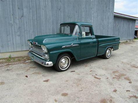 chevrolet apache 1958 1958 chevrolet apache for sale 1957015 hemmings motor news