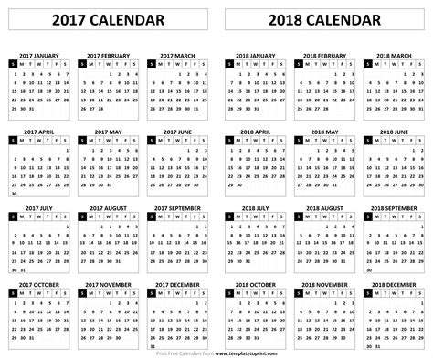 free printable academic calendar for 2017 2018 school year smarty