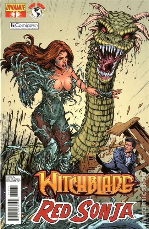 Witchblade Sonja witchblade sonja 2012 dynamite comic books
