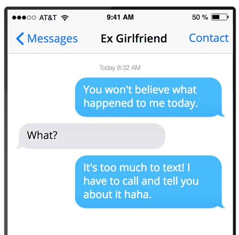 Best texts to get a girl back