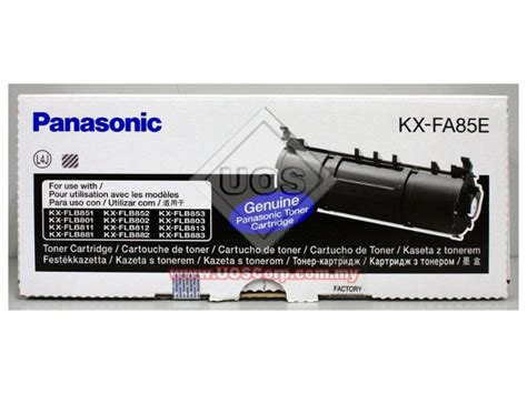 Cartridge Compatible Panasonic Kx Fa85e For Use In Lase Berkualitas 2 panasonic toner cartridges uos corporation