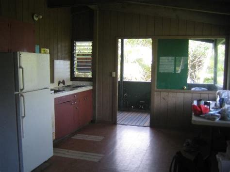 Waianapanapa Cabins by Kitchen Dining Area Deck Of Cabin 4 Picture Of