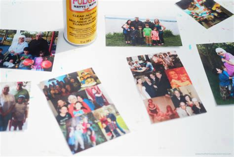 How To Seal Decoupage - get in the photos s day decoupage memory gifts