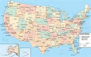 united states map distances between cities usa map