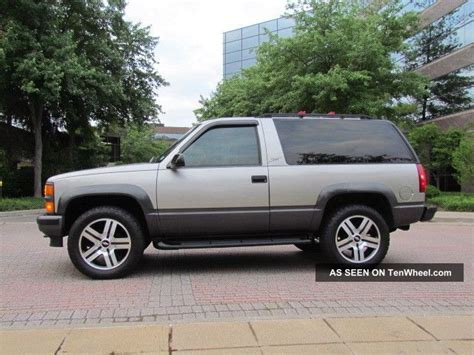 1999 2 Door Tahoe by 1999 Chevy Tahoe 2 Door 4x4 Awd 2wd 20 Quot Powder Coated Gm