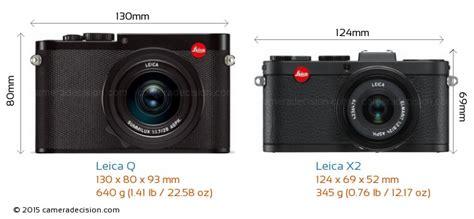 leica x2 leica q vs leica x2 detailed comparison