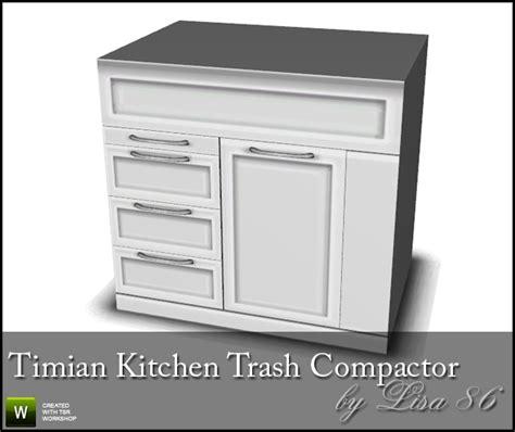 86 s timian kitchen trash compactor