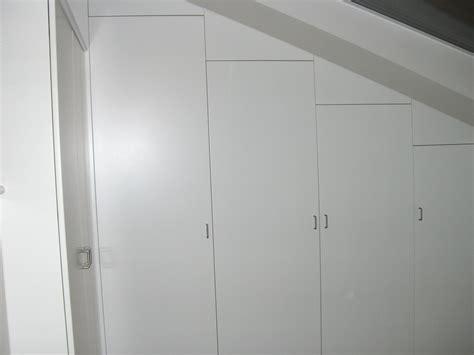 armadio mansarda armadi su misura per mansarda falegnameria de biasi