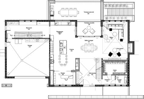modern architecture floor plans home iron lace designed by gestion ren 195 169 desjardins keribrownhomes
