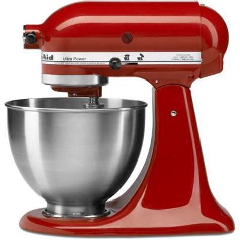 home kitchen aid kitchenaid ultra power 4 5 qt stand mixer in empire red