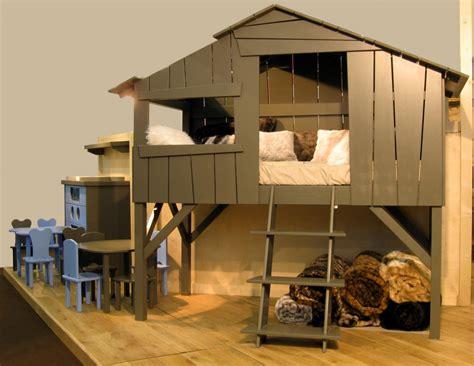 cabane enfant chambre un lit cabane dans la chambre de votre enfant le
