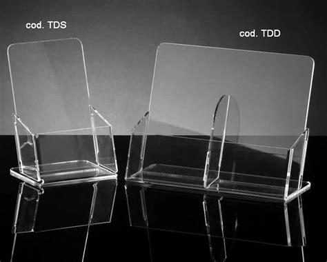 portadepliant da tavolo doppia tasca porta depliant da tavolo