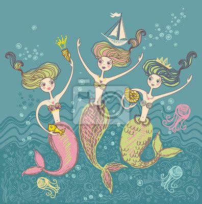 mermaid wall mural wall murals mermaid pixersize
