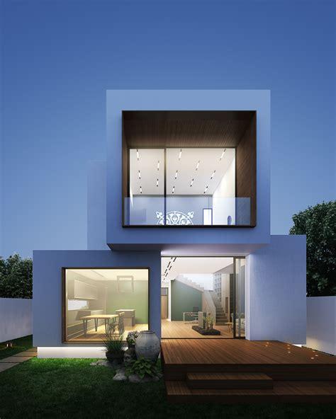 Esterni Ville Moderne by Facciate Ville Moderne Moderne Interni Ed Esterni