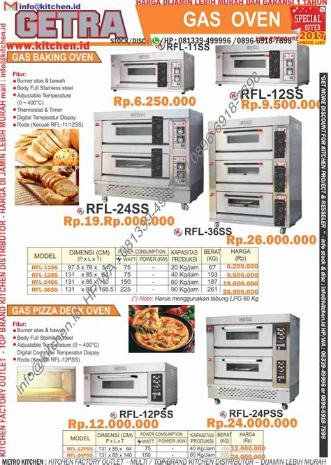 Oven Getra bakery equipment getra price list 2017 kitchen kitchen