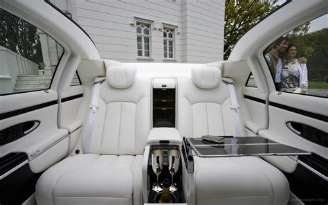 inside maybach 2009 maybach landaulet interior wallpaper hd car wallpapers