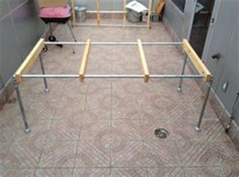 diy glass table legs 1000 images about dining tables on pipe table