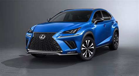 lexus crossover totally refreshed 2018 lexus nx crossover revealed at