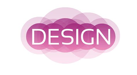 design free text logo free illustration design logo icon text web pink