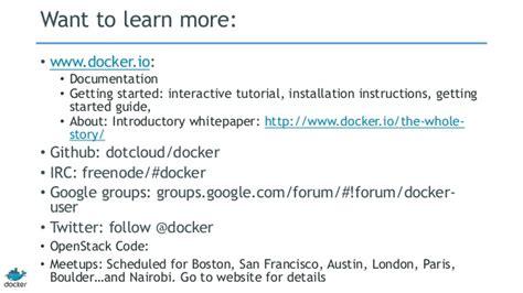 docker pipework tutorial intro to docker october 2013