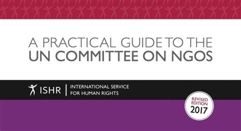 in or out a practical guide to decision books updated a practical guide to the un committee on ngos ishr