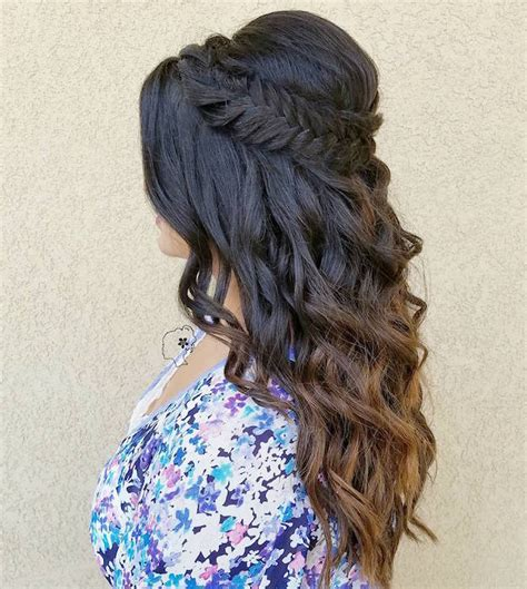 homecoming curly hairstyles 12 curly homecoming hairstyles you can show makeup