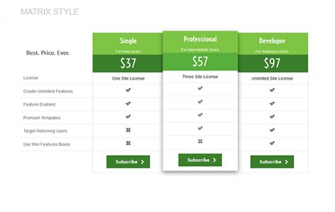 price table design flashuser plugmatter pricing table cc by plugmatter codecanyon