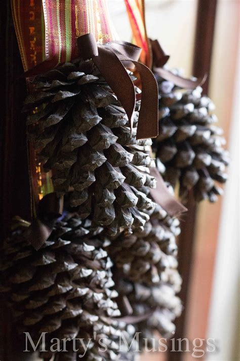 Pinecone Door Arrangement