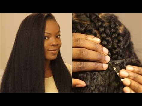 how do you do a quick weave sew on tinning edges how to put in a sew in weave on yourself most natural