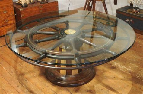 ships wheel coffee table favorite places spaces
