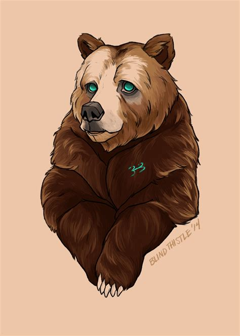 brother bear tattoo by blindthistle on deviantart