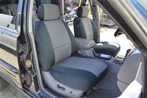 1993 jeep wrangler yj seat covers jeep 1993 1998 iggee s leather custom fit seat
