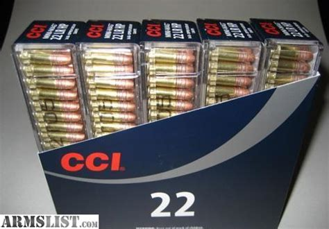 cci mini mag 22 lr copper plated hollow point armslist for sale 22 22lr cci mini mag high velocity