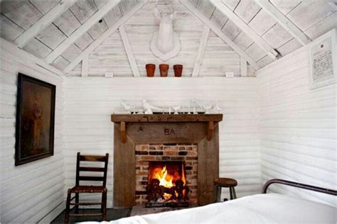 White Cabin by White Wash In Cabin Abode