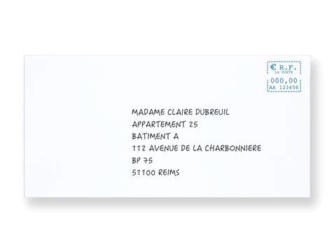 Modele Adresse Enveloppe