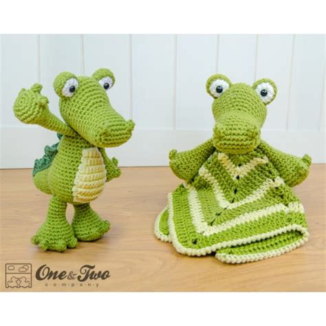 amigurumi alligator pattern crocodile lovey and amigurumi crochet patterns pack
