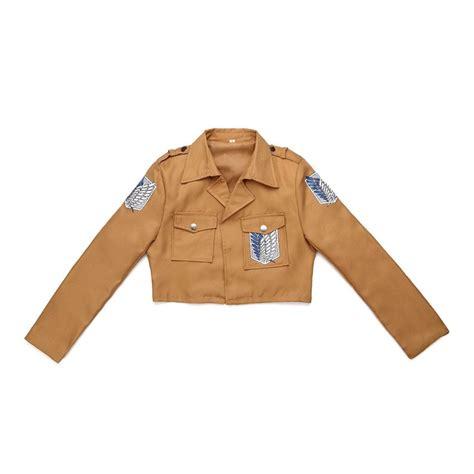 Jaket Shingeki No Kyojin New Stylle Jacket aliexpress buy attack on titan jacket shingeki no kyojin jacket legion costumes