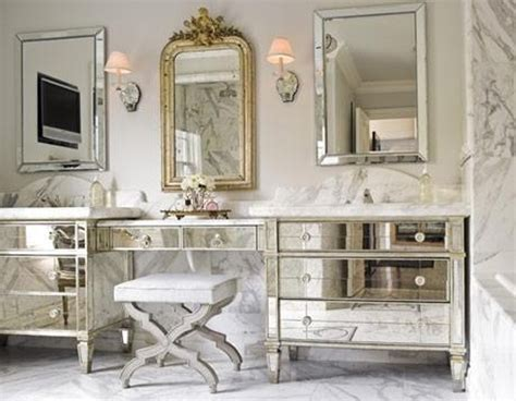 Mirrored Vanities For Bathroom Luxury Bathroom Decoration Design