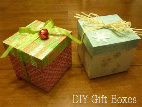 How To Make Paper Gift Boxes With Lid - 17 best ideas about diy gift box on creative
