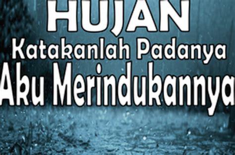 dp bbm hujan bikin kangen  doi wartasolocom berita