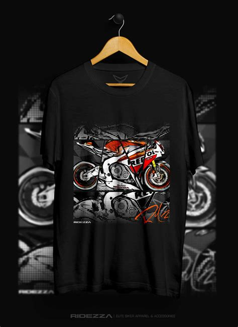 T Shirt Honda Cbr honda cbr 1000rr raceline t shirt ridezza