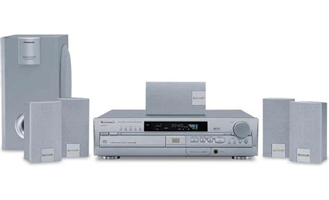 panasonic sc ht70 dvd home theater system at crutchfield