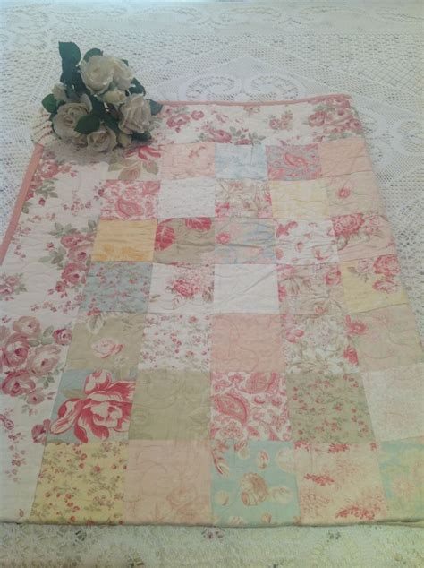 shabby chic quilt quilts pinterest