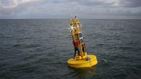 Buoy L world leading scientific research plymouth marine laboratory