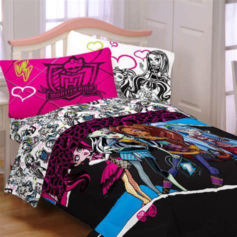 monster high comforters monster high quot ghouls rule quot reversible comforter walmart com